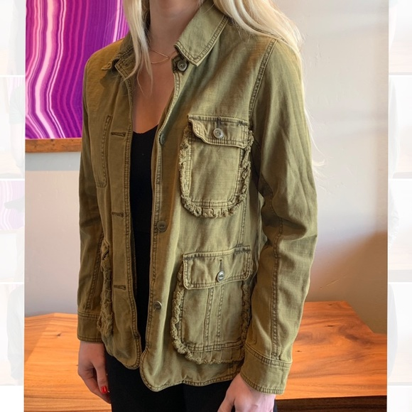 Anthropologie Jackets & Blazers - Anthropologie Army Jacket
